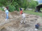 Préparation des fouilles