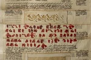 Les grands testaments - Format 80 cm x 220 x cm - Photographie: Joseph Caprio
