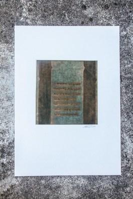 Gravure. N° 10. 250 euros. Format: 50 x 35 cm. En l'état.