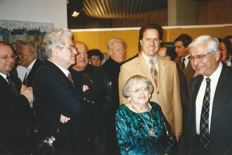 Marc Pessin, Berthe, Michel Hannoun, maire de Voreppe et député en 1997