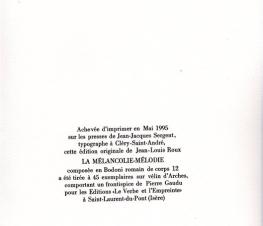 Jean-Louis Roux La mélancolie mélodie (4)