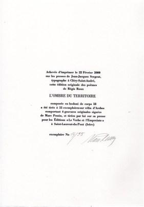 L'OMBRE DU TERRITOIRE - REGIS ROUX (4)