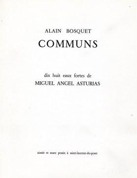 Alain Bosquet – Communs – (1)