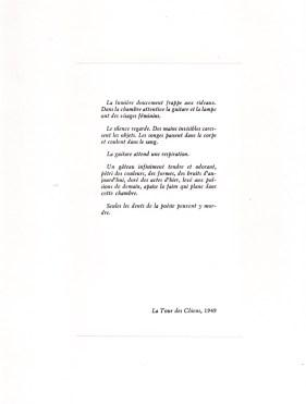 Gabriel Cousin. Variations pour des musiques de chambre (2)