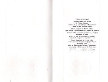 PHILIPPE LAFARGUE POEMES DE LENINGRAD (3)