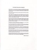 PIERRE PESCAUD LITHURGIE POUR DES ANIMAUX (2)