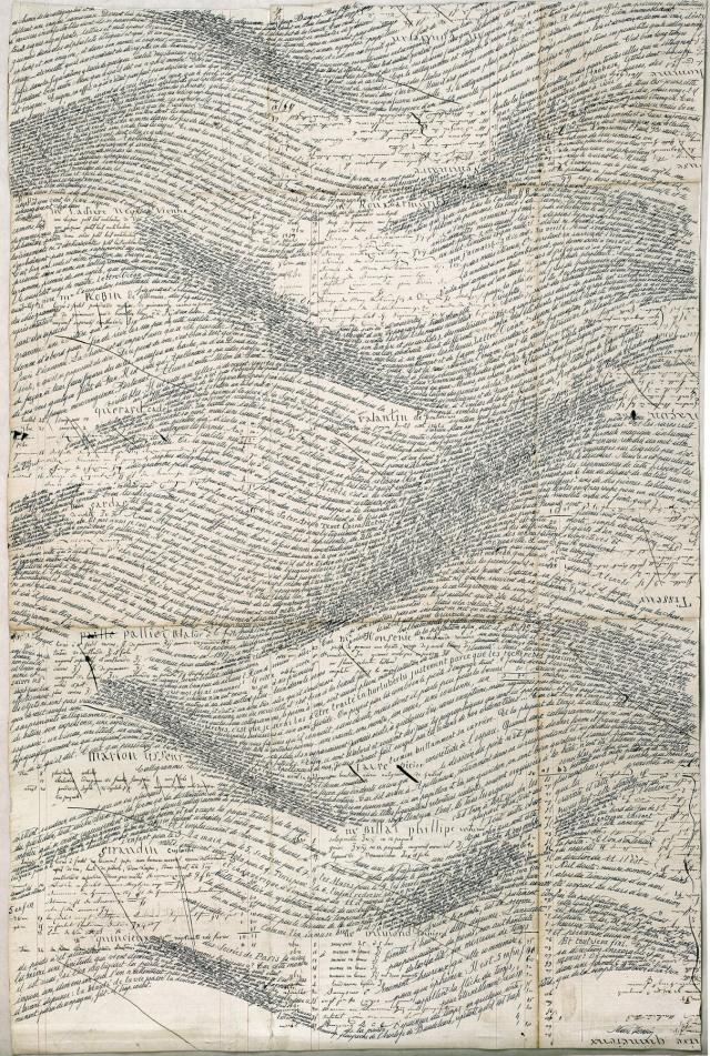 Calligramme - Jean Burgos