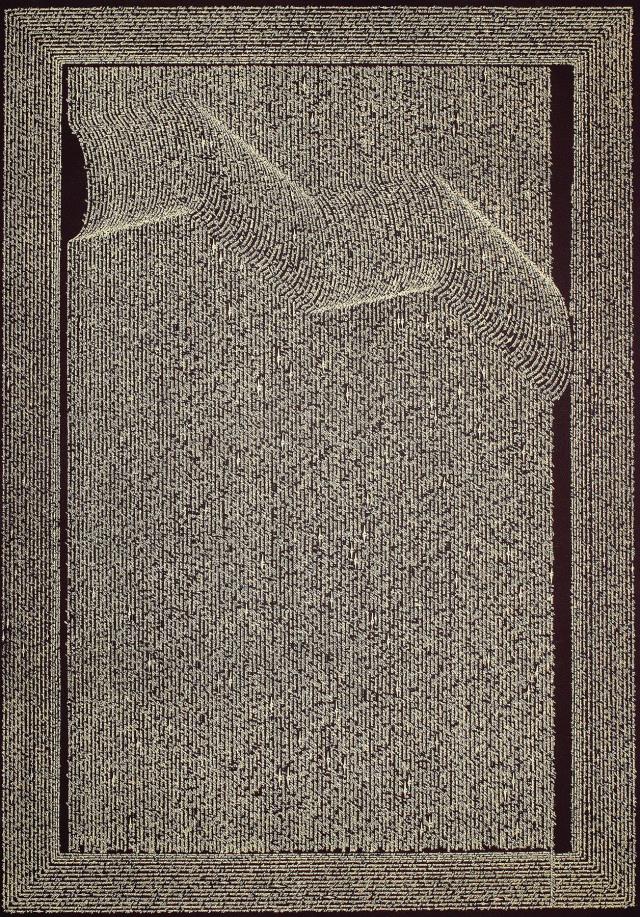 Calligramme - Réseau aérien de Michel Butor