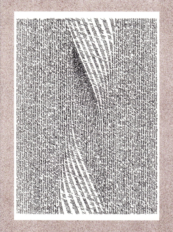 Calligramme - Voyages en calligrammes - JEAN BURGOS