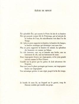 """Léopold Sédar Senghor - Élégiede minuit (poèmes extraits de """"Nocturnes"""")"""