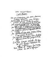 """Léopold Sédar Senghor - Poèmes (fragments de """"Chants d'ombre"""", """"Hosties noires"""" et """"Nocturnes"""")"""